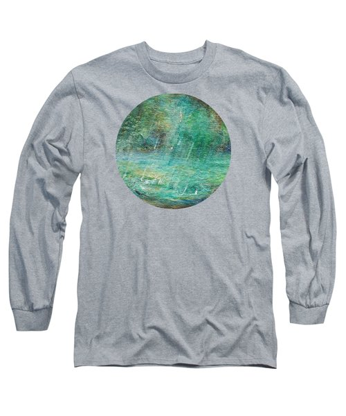 Rain On The Pond Long Sleeve T-Shirt