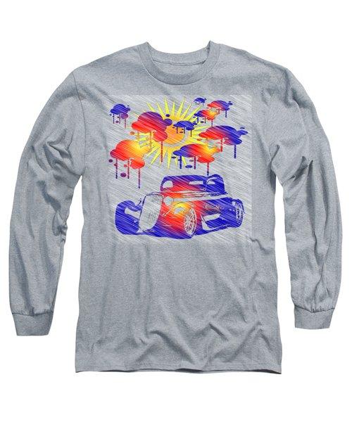 Rain Showers Long Sleeve T-Shirt by EricaMaxine Price