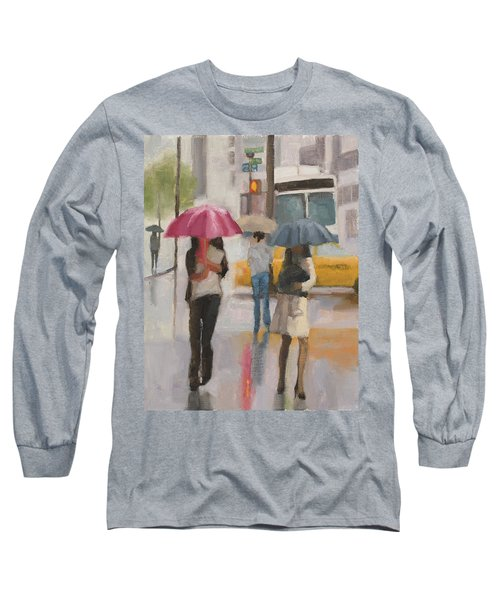 Rain Walk Long Sleeve T-Shirt