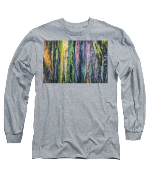 Long Sleeve T-Shirt featuring the photograph Rainbow Forest by Ryan Manuel
