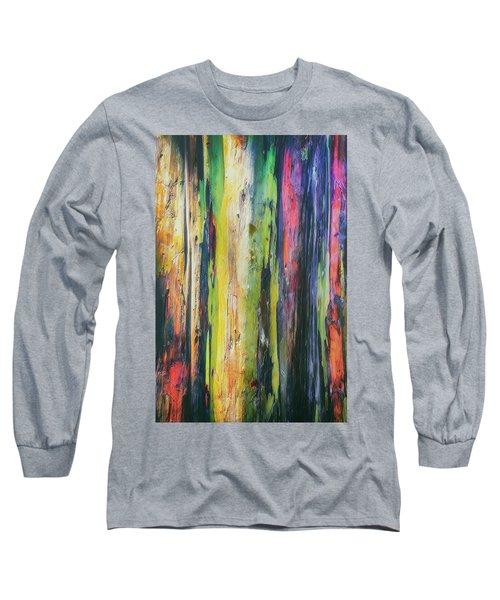Long Sleeve T-Shirt featuring the photograph Rainbow Grove by Ryan Manuel