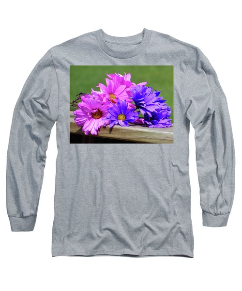Rainbow Mums 2 Of 5 Long Sleeve T-Shirt by Tina M Wenger