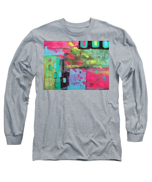 Rainbow Rain Long Sleeve T-Shirt