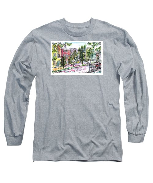 Rainbow Row Long Sleeve T-Shirt