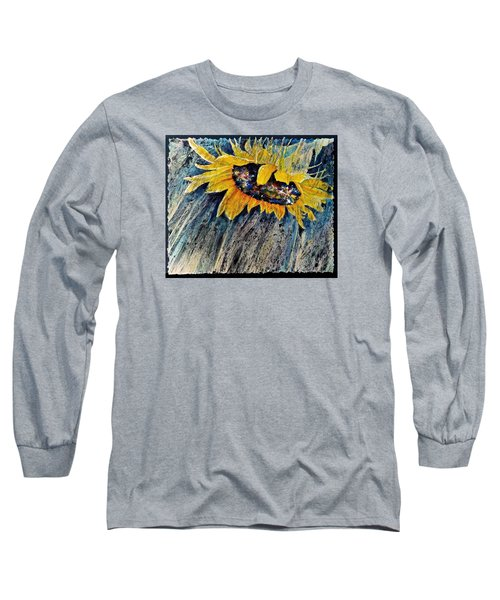 Long Sleeve T-Shirt featuring the painting Rainswept by Carolyn Rosenberger