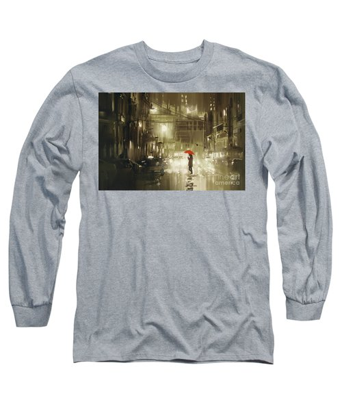 Rainy Night Long Sleeve T-Shirt