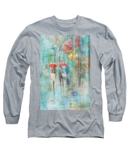 Rainy In Paris 4 Long Sleeve T-Shirt