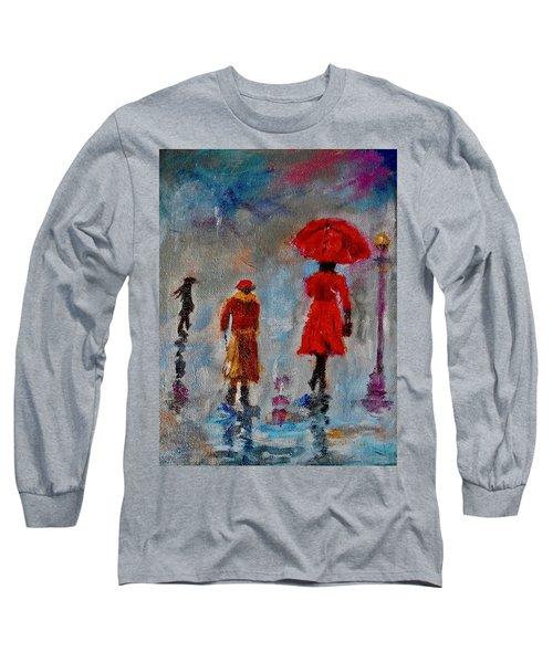 Rainy Spring Day Long Sleeve T-Shirt