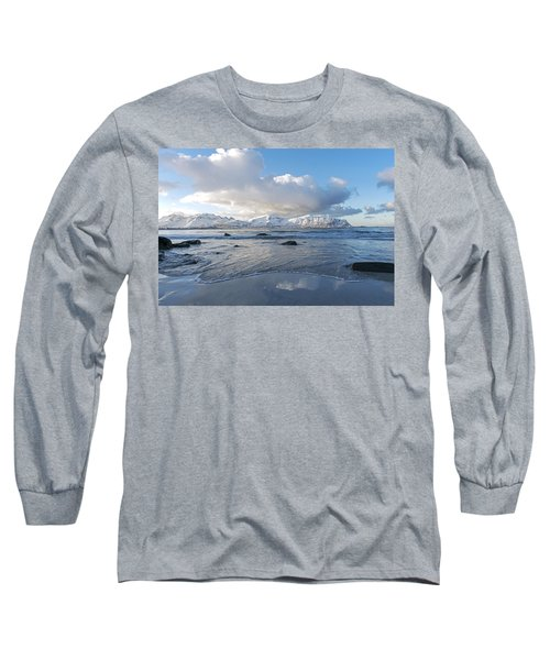 Ramberg Beach, Lofoten Nordland Long Sleeve T-Shirt