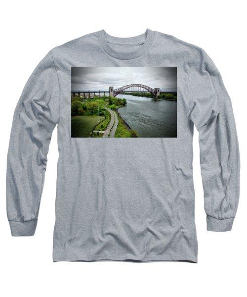 Randall's Island To Hellgate Long Sleeve T-Shirt