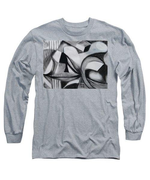 Random Shapes Long Sleeve T-Shirt