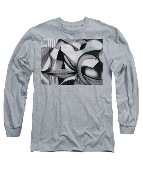 Random Shapes Long Sleeve T-Shirt