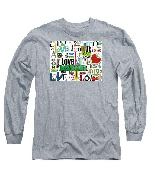 Ransom Art - Love Long Sleeve T-Shirt