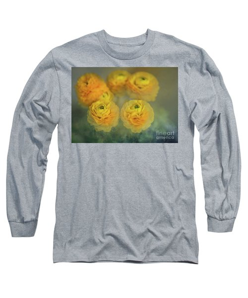 Ranunculus Long Sleeve T-Shirt by Eva Lechner
