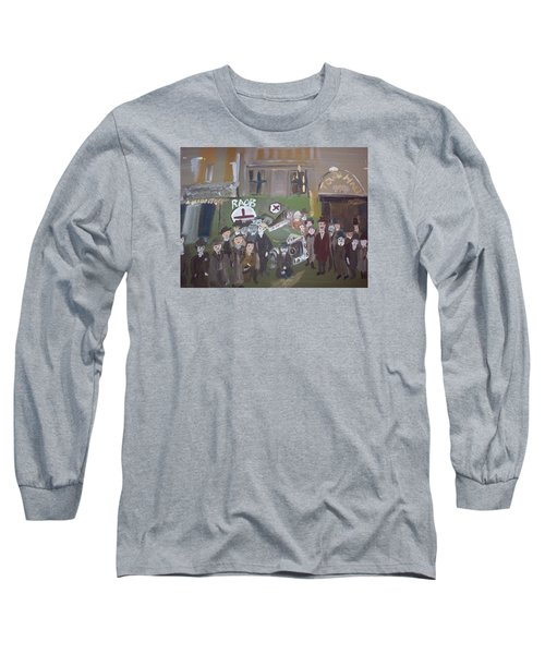 Raob Ambulance Long Sleeve T-Shirt by Judith Desrosiers