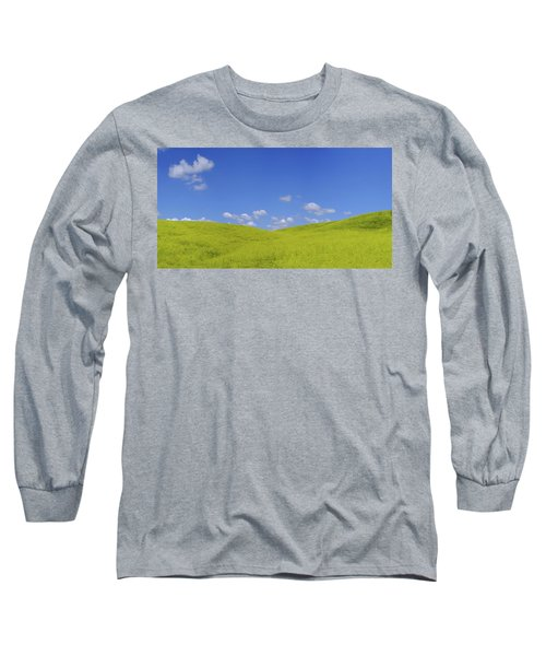 Rapeseed Landscape Long Sleeve T-Shirt