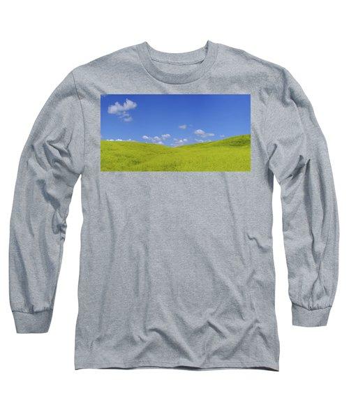 Rapeseed Landscape Long Sleeve T-Shirt