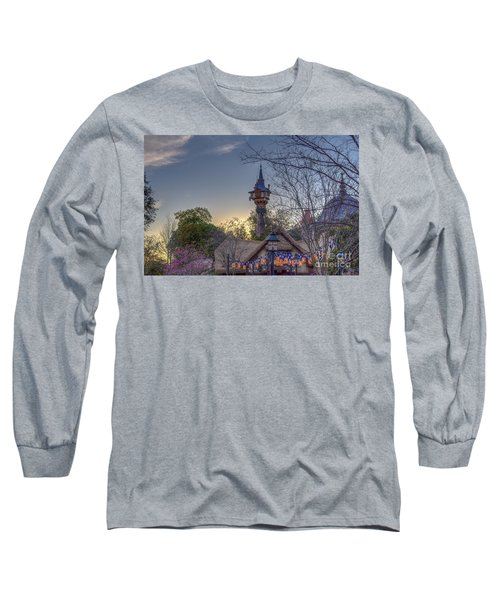 Rapunzel's Tower At Sunset Long Sleeve T-Shirt