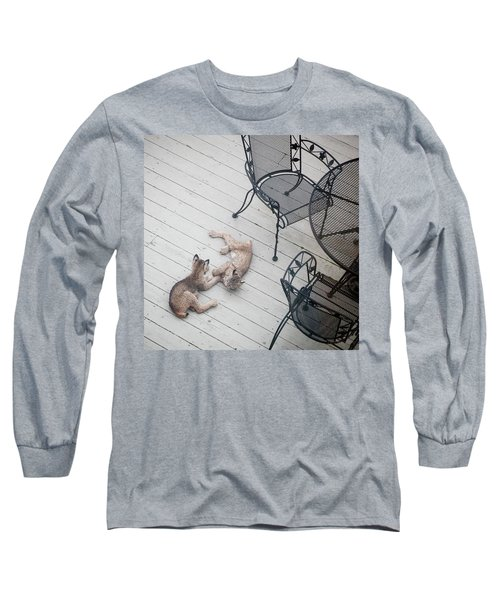 Wrestling Lynx Long Sleeve T-Shirt