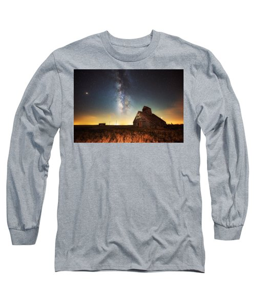 Rattlesnake Silo Barn Long Sleeve T-Shirt
