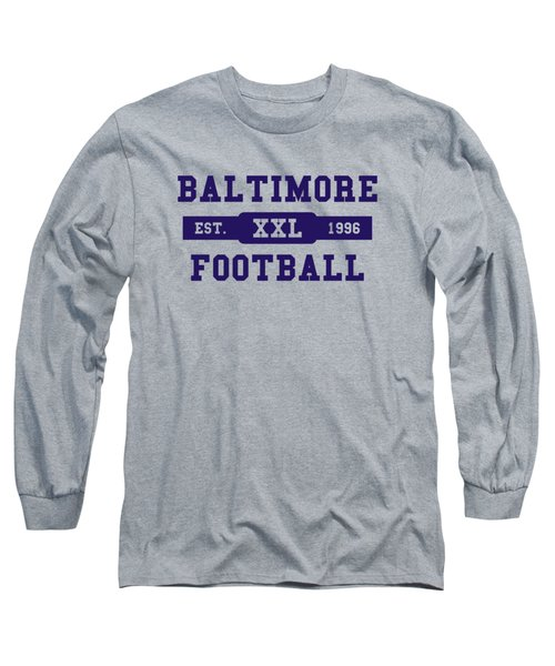 Ravens Retro Shirt Long Sleeve T-Shirt