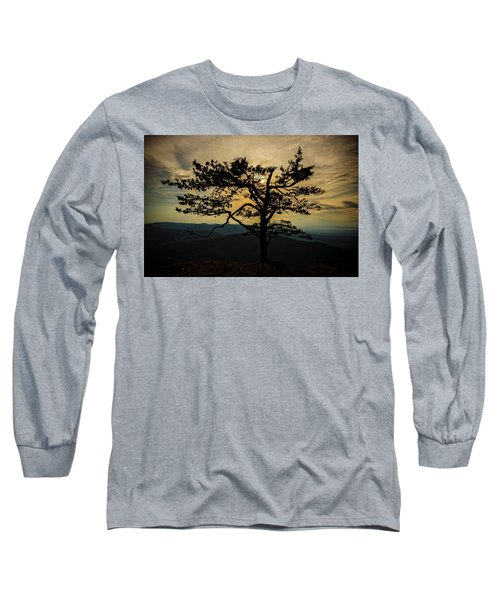 Ravens Roost Hdr Long Sleeve T-Shirt