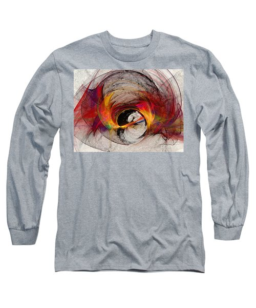 Reaction Abstract Art Long Sleeve T-Shirt