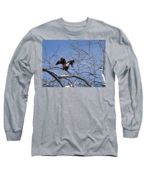 Long Sleeve T-Shirt featuring the photograph Ready by Jim  Hatch