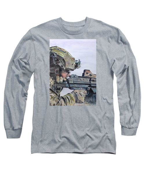 Ready Long Sleeve T-Shirt by Stan Tenney