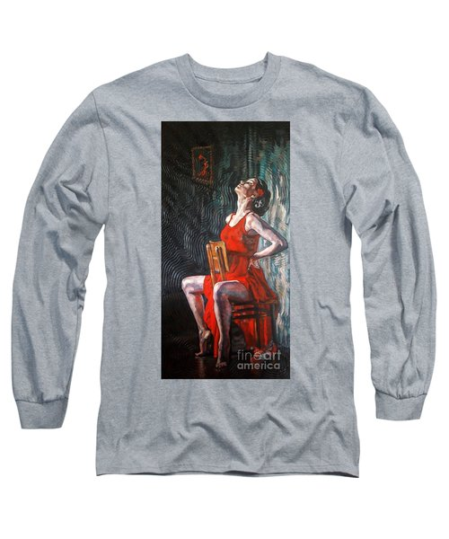 Ready The Dance Within Long Sleeve T-Shirt by Janet McDonald