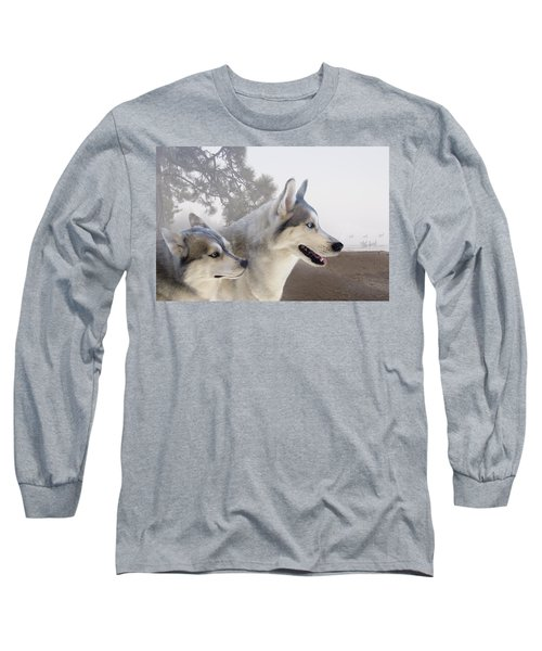 Ready Forthe Chase Long Sleeve T-Shirt