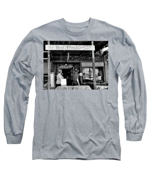 Real French Cooking Louisiana Restaurant  Long Sleeve T-Shirt