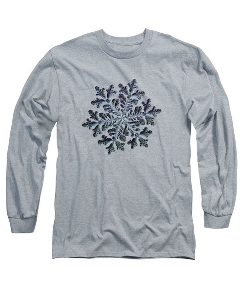 Real Snowflake - Hyperion Dark Long Sleeve T-Shirt