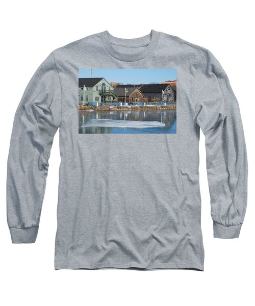 Long Sleeve T-Shirt featuring the photograph Remains Of The Old Fishing Village by Janice Adomeit