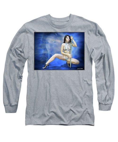 Rebel Blue Long Sleeve T-Shirt