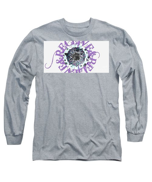 Receive And Believe In White Long Sleeve T-Shirt