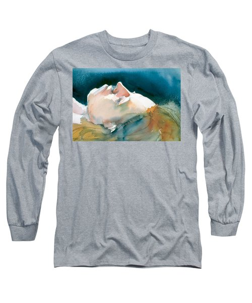 Reclining Head Study Long Sleeve T-Shirt