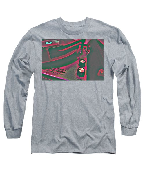 Record Player Long Sleeve T-Shirt