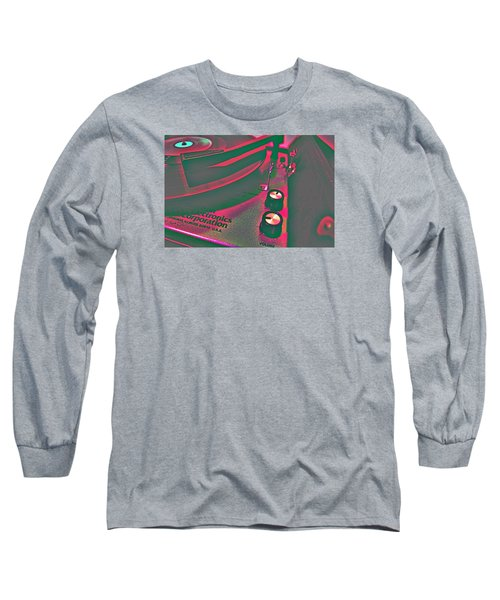 Record Player Long Sleeve T-Shirt