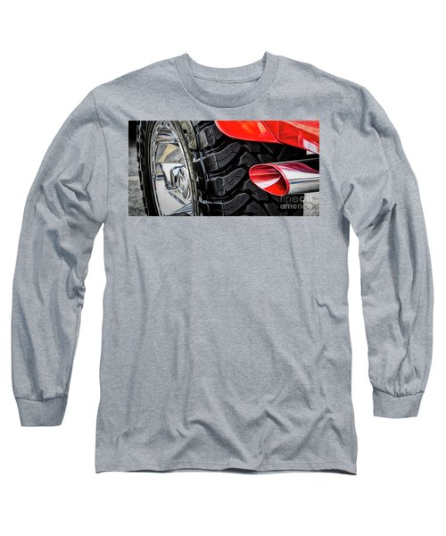 Red 4x4 Long Sleeve T-Shirt
