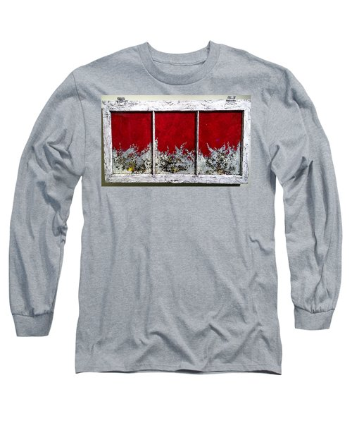 Red And White Widow # 2 Long Sleeve T-Shirt