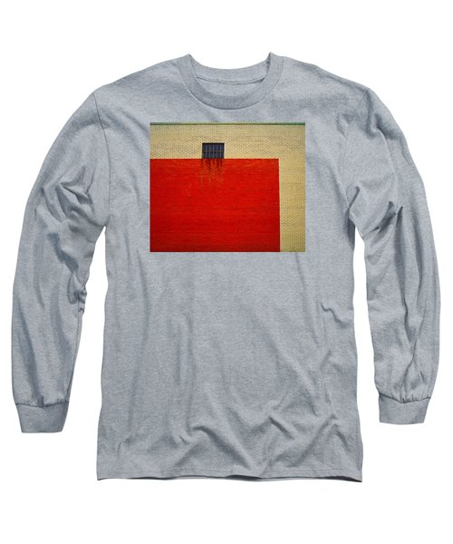 Red And Yellow Wall Long Sleeve T-Shirt