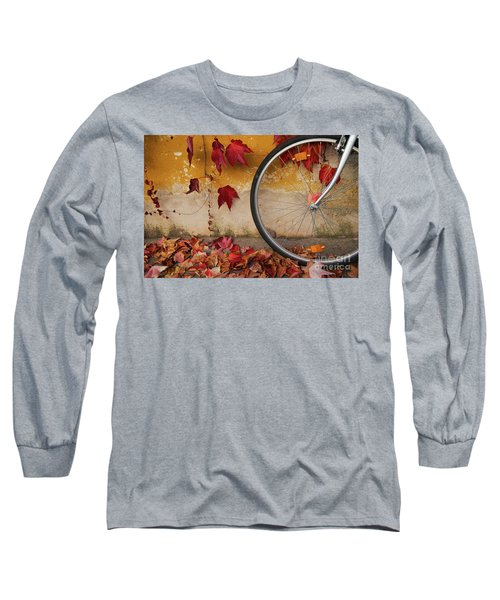 Red Autumn Long Sleeve T-Shirt by Yuri Santin