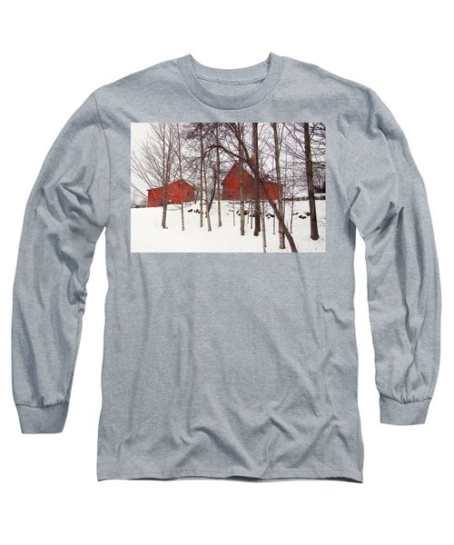 Red Barns Long Sleeve T-Shirt