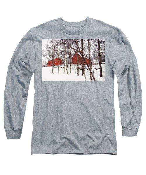 Red Barns Long Sleeve T-Shirt