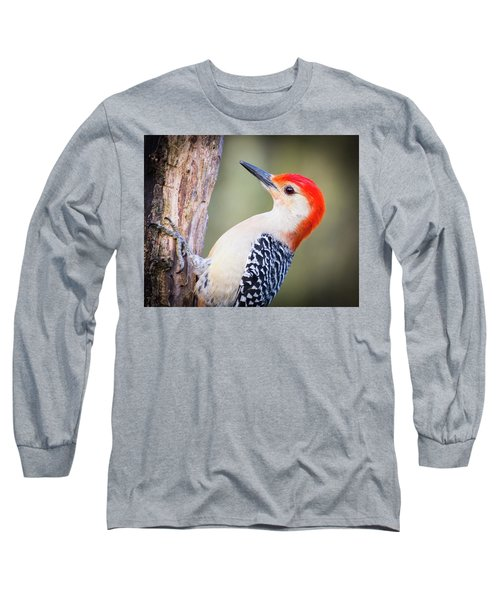 Red-bellied Woodpecker Long Sleeve T-Shirt