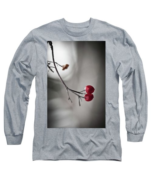 Red Berries Long Sleeve T-Shirt