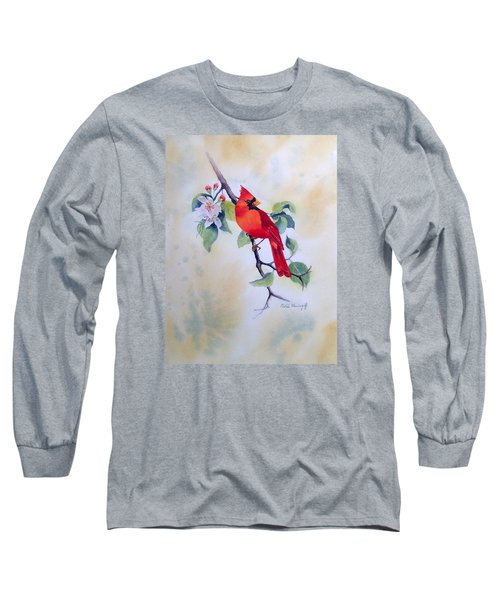Red Cardinal  Long Sleeve T-Shirt