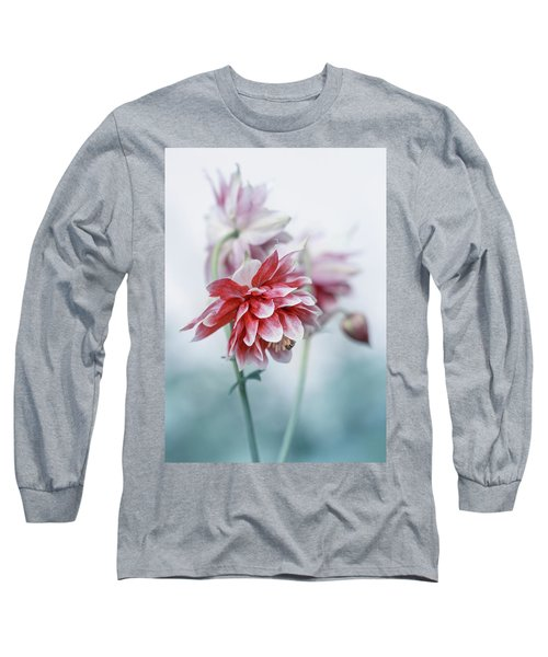 Red Columbines Long Sleeve T-Shirt