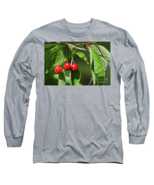 Long Sleeve T-Shirt featuring the photograph Red Delicious by Kennerth and Birgitta Kullman